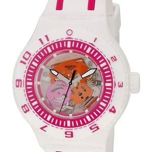 NWT SWATCH Unisex Feel the Wave White Watch